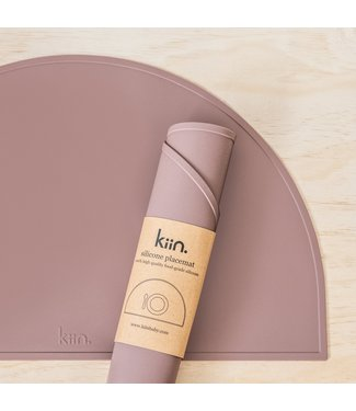 kiin SILICONE PLACEMAT - HEATHER