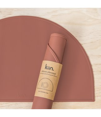 kiin SILICONE PLACEMAT - ROSEWOOD