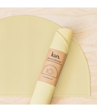 kiin SILICONE PLACEMAT - BEIGE
