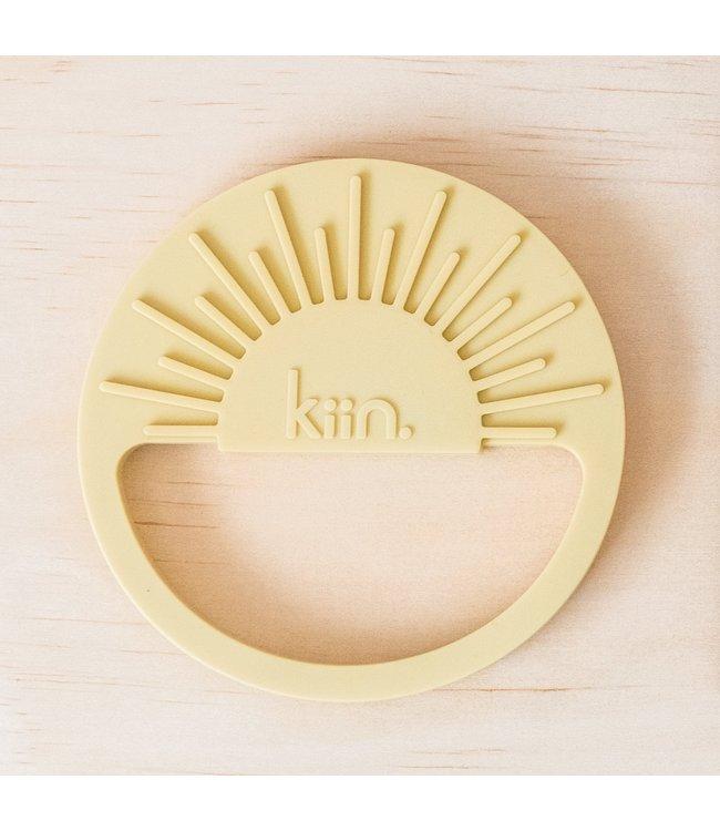 kiin SUNRISE SILICONE TEETHER - BEIGE