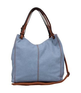 MARGOT SHOULDER BAG - BLUE