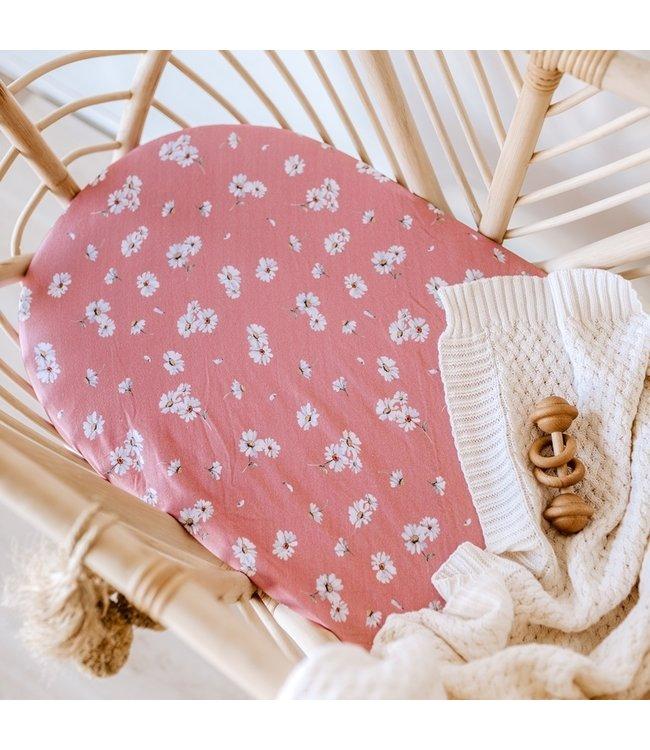 SNUGGLE HUNNY KIDS DAISY - BASSINET SHEET/CHANGE PAD COVER