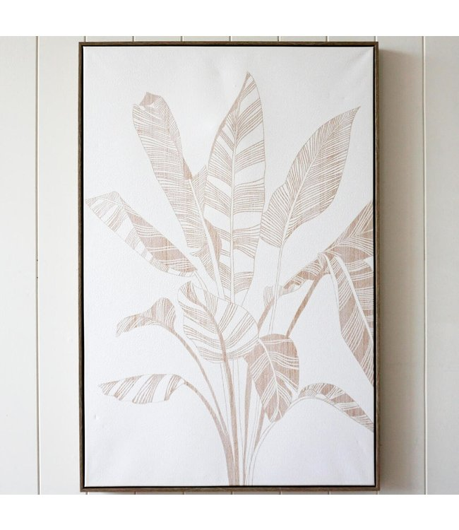 ABSTRACT FRONDS ARTWORK