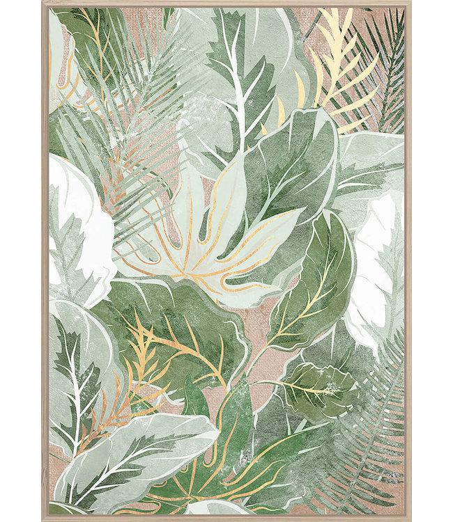 PALM LEAVES ARTWORK