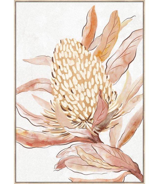 BANKSIA FLOWER ARTWORK