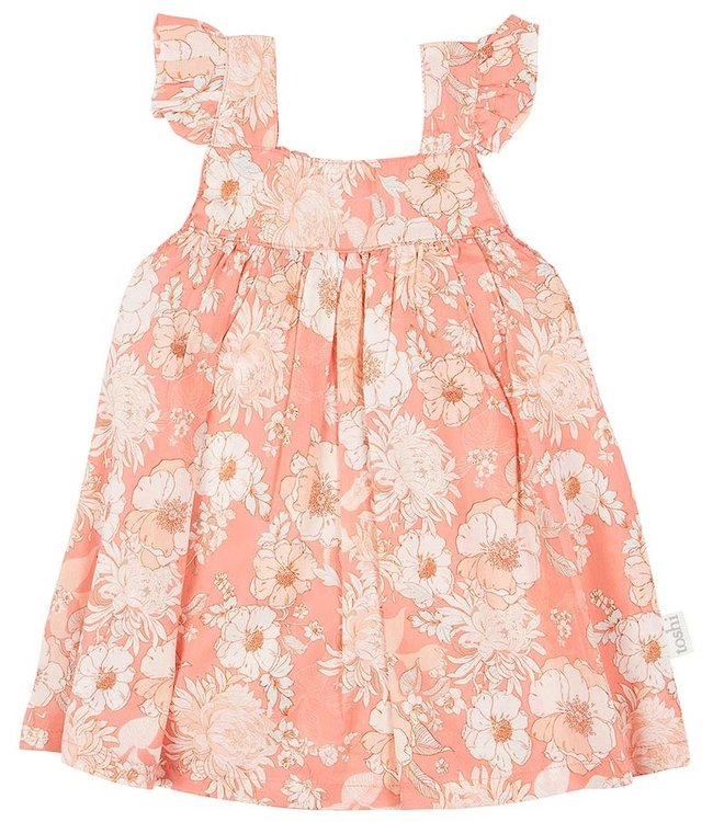 Toshi BABY DRESS - SABRINA - TEA ROSE