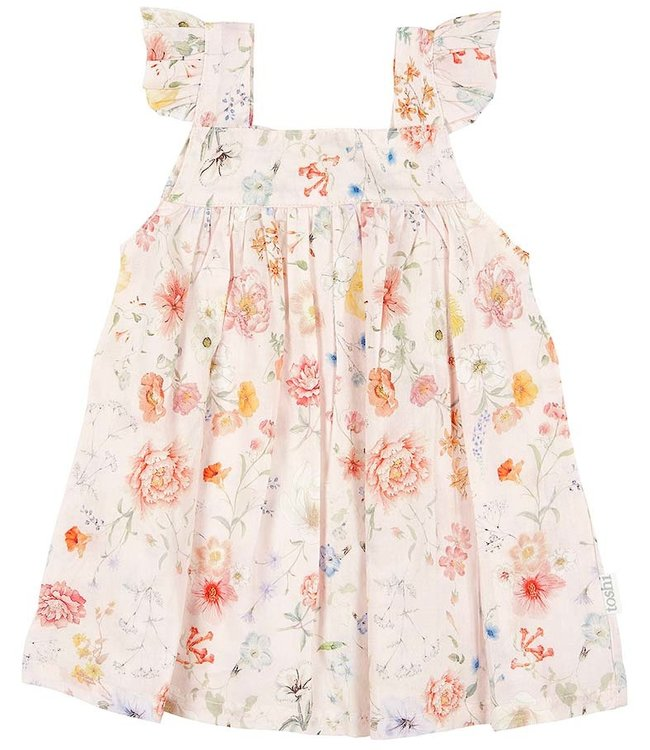 Toshi BABY DRESS - SECRET GARDEN - BLUSH