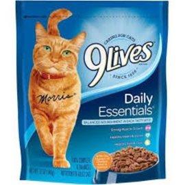 9 Lives Cat Food 12 oz