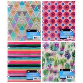Jot File Folders 3 pcs Assorted