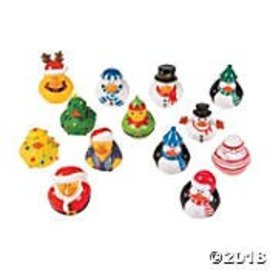 oriental trading NEW!Assorted Christmas Ducks