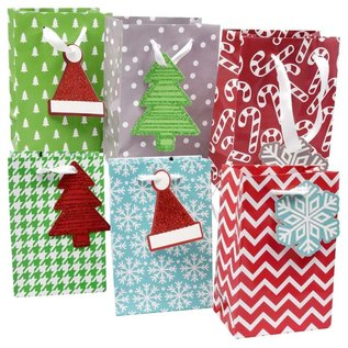 Holiday Bags Small Assorted 3pk