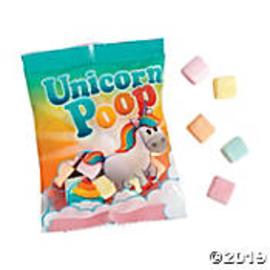 Unicorn Poop Candy Marshmallows
