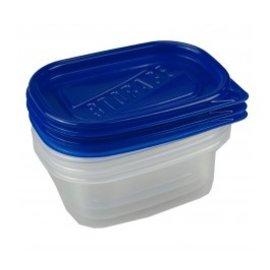 NEW!!Rectangular Food Storage 3ct