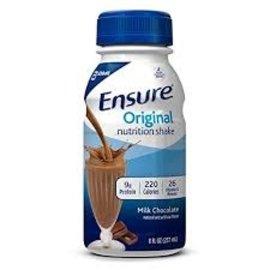 NEW!!Ensure Original Chocolate 8oz