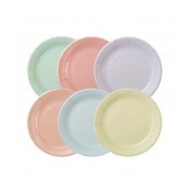 NEW!!Pastel's 12pk Paper Plates