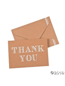 Thank You Card with Envelope