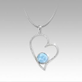 VENUS HEART NECKLACE