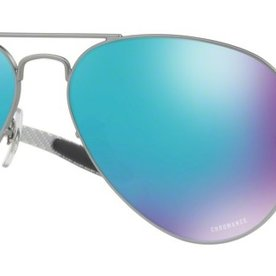 Ray Ban Blue Mirror Pilot