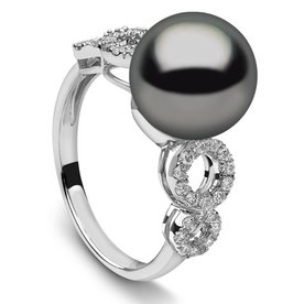 Tahitian Diamond Ring