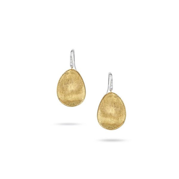 MARCO BICEGO OB1343-A B1 YW Q6  0.05CT Dia 18KT Yellow Gold Earrings