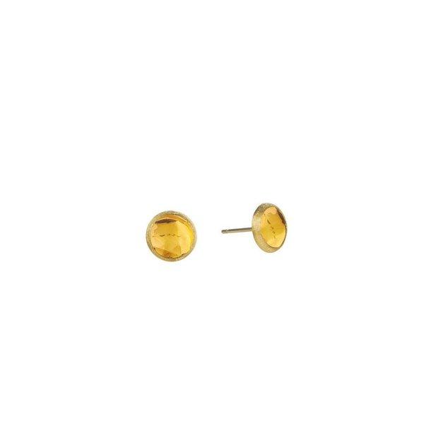 MARCO BICEGO 18K Yellow Gold & Citrine Petite Stud Earrings