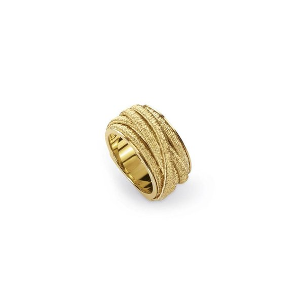MARCO BICEGO 18k hand woven ring yellow gold