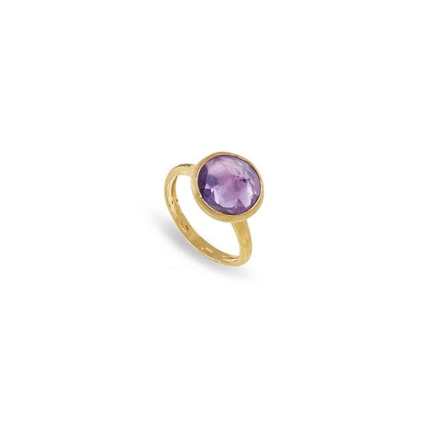 MARCO BICEGO 18K Yellow Gold Amethyst Medium Stackable Ring
