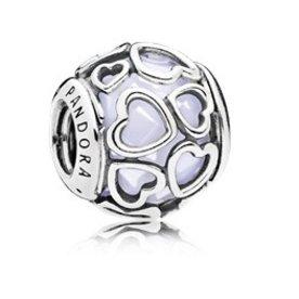 Pandora Encased in Love, Opal Charm