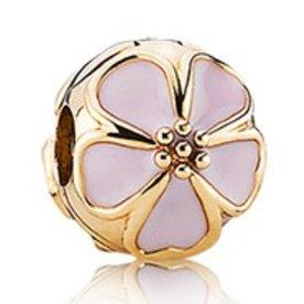 Pandora Cherry Blossom Clip, Gold
