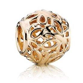 Pandora Butterfly Garden Gold Charm