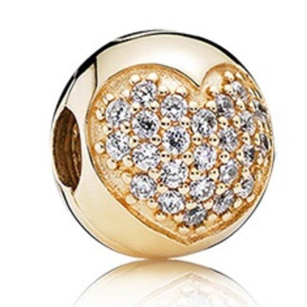 Pandora Love of My Life, Gold Clip