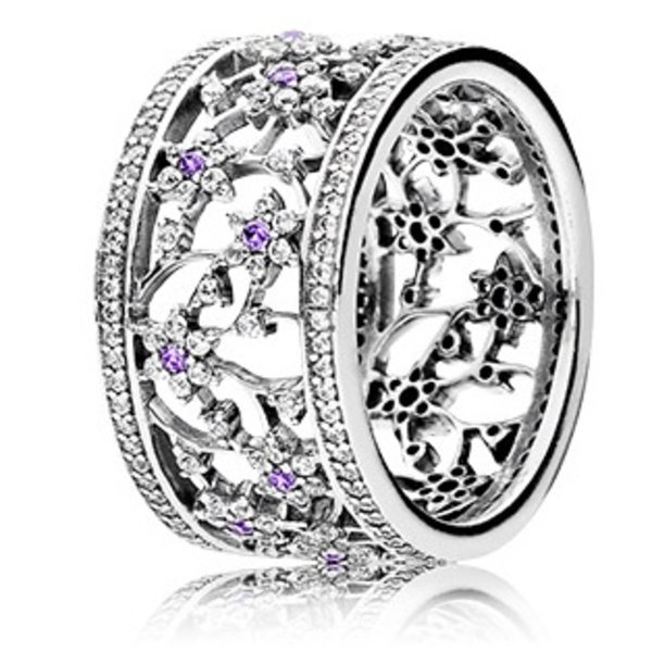 Pandora Forget Me Not Ring, Size 9