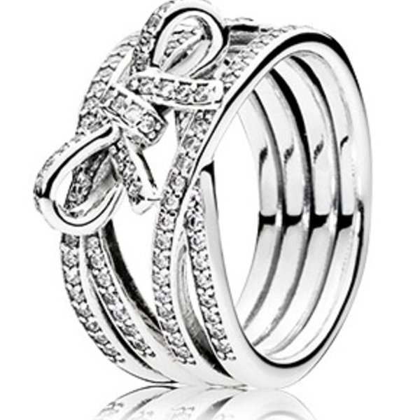 Pandora Delicate Sentiments Ring, Size 4.5