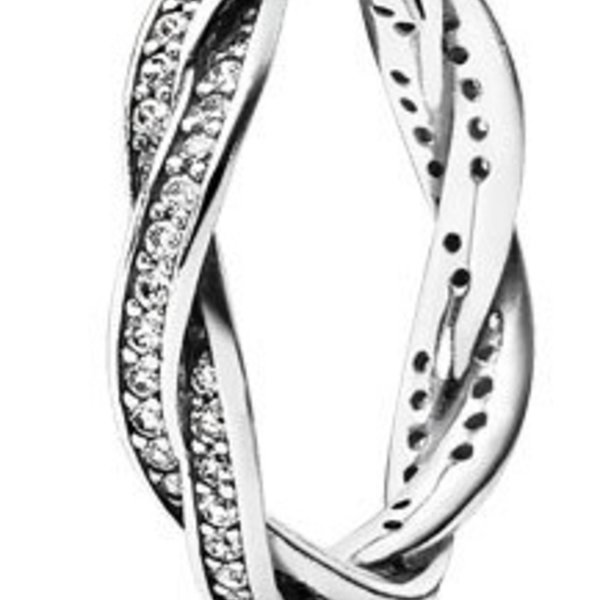 Pandora Twist of Fate Ring, Size 4.5