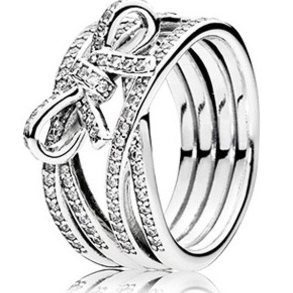 Pandora Delicate Sentiments Ring, Size 7