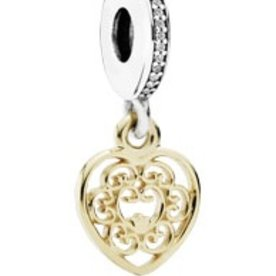 Pandora Magnificent Heart Charm