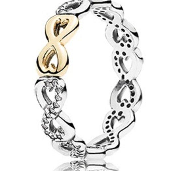 Pandora Infinite Love Ring, Size 6