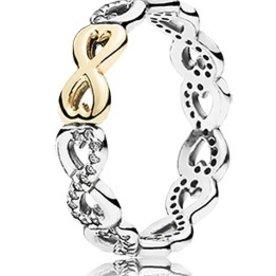 Pandora Infinite Love Ring, Size 7.5