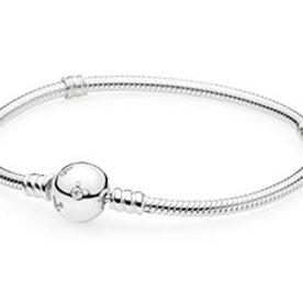 Pandora Mickey Pave Bracelet, Size 20