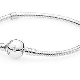 Pandora Mickey Pave Bracelet, Size 21