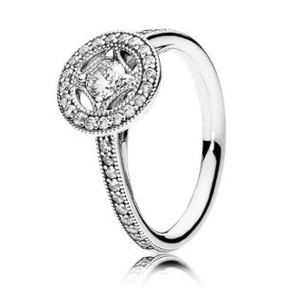 Pandora Vintage Allure Ring, Size 7.5