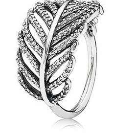 Pandora Light as a Feather Ring, Size 7