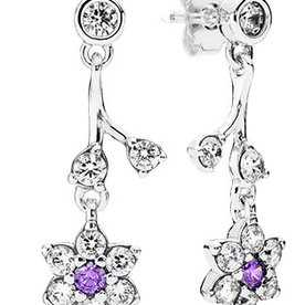 Pandora Forget Me Not Dangle Earrings
