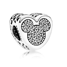 Pandora Mickey & Minnie True Love Charm