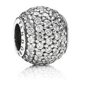Pandora Pave Lights, Clear Charm