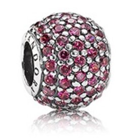 Pandora Pave Lights, Red Charm