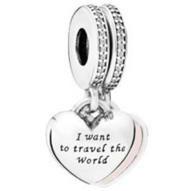 Pandora Travel Together Forever Double Charm