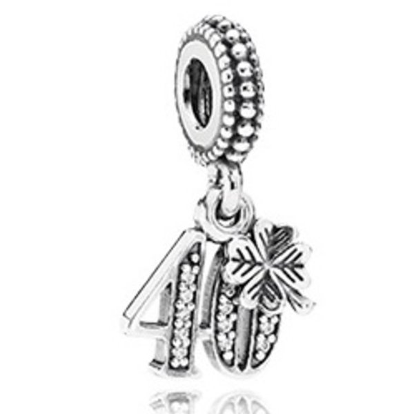 Pandora 40 Years of Love Charm