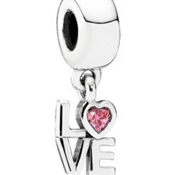 Pandora All About Love Charm