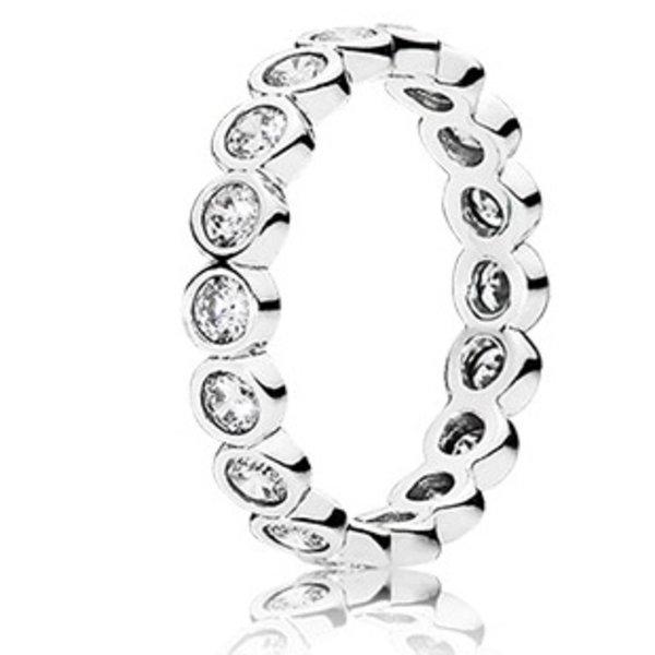 Pandora Alluring Brillant Ring, Size 7.5